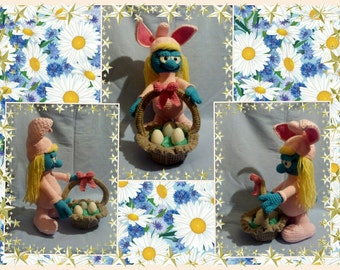 TUTORIAL of the EASTER SMURFETTE