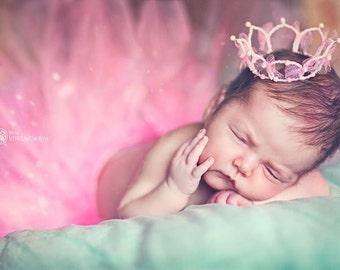Newborn Crown, crown, newborn photo prop, princess crown, baby crown, photo Prop, crown headband, 1st Birthday Crown, newborn photographer