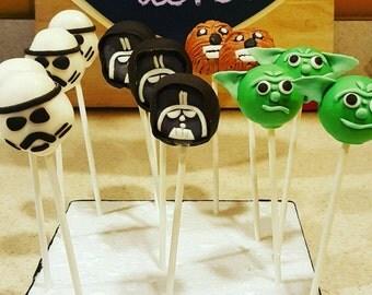 Star Wars Cake Pops (Order of 13)