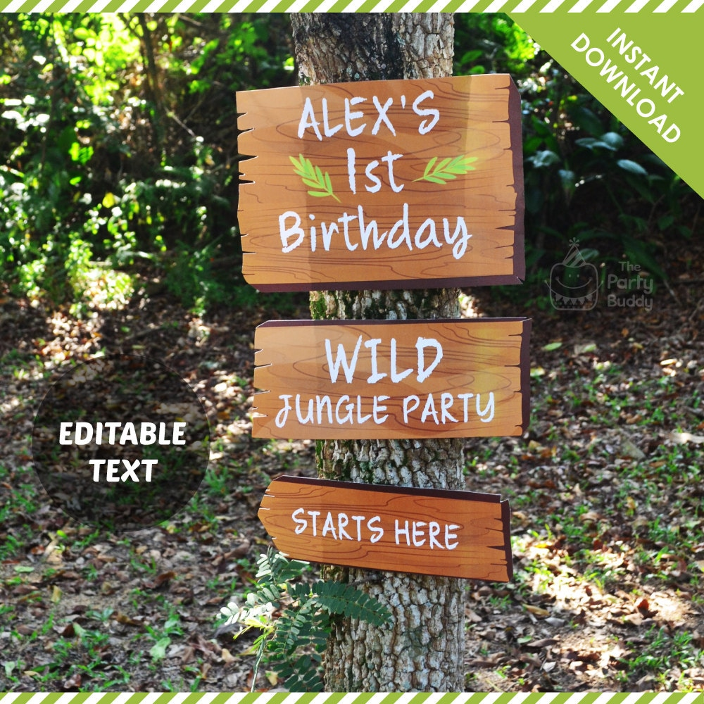 Jungle Party Sign Editable Text Wood Like Pattern Signage. Horoscopic Signs. Cherokee Signs. Abuse Signs Of Stroke. Yes Signs. Escape Plan Signs Of Stroke. Real Estate Office Signs. Soulmate Signs. November 12 Signs Of Stroke