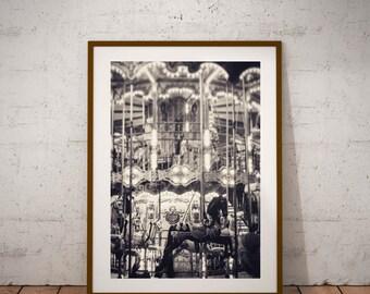 """Paris Photography, Maudit Manège, Travel Photography, Fine Art Photography, 15 cm x 20 cm, 6"""" x 8"""""""
