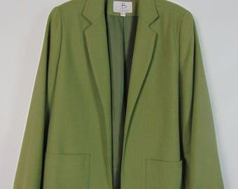 Vintage Green Jacket