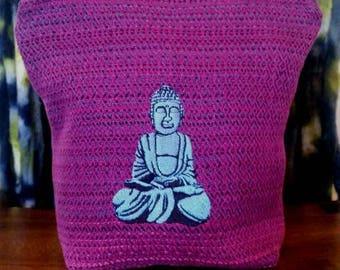 Handwoven Happy Buddha Bag!