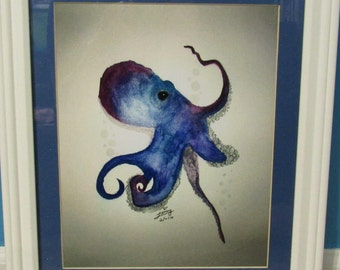 The Blue Octopus