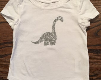 Girls Dinosaur shirt (Brontosaurus)
