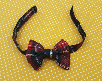 Bow tie for boys - Bow tie - Boys bow tie - Kids - Matching bow ties - Tartan - Toddler - Wedding - Kids outfit - Father and Son - Gift