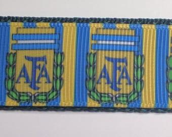 AFA Football Dog Collar - Argentina Dog Collar FREE Shipping