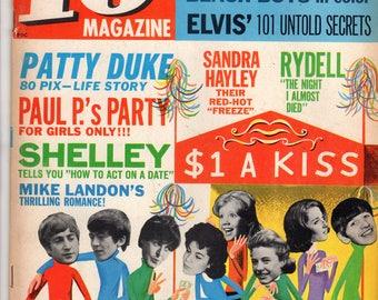 16 Magazine Beatles Beatles Elvis Patty Duke June 1964 Issue Teen Idol Hearthrob