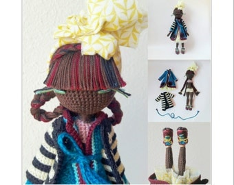 Huguette - Crochet doll pattern