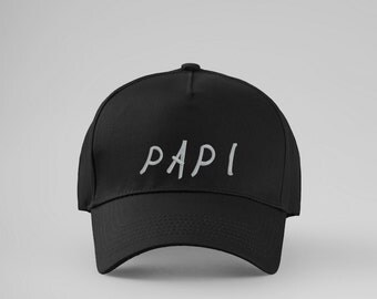 Papi Embroidered Cap Papi Baseball Cap Papi Embroidered Hat Dad Cap Papa Baseball Cap New Dad Gift Papa Cap Baseball Cap Funny Gift PA2033