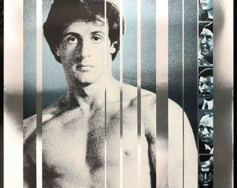 Rocky III (1982) Original Foil One Sheet Movie Poster