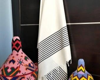 Fouta (Hammam towel) cotton - handmade