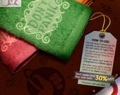"""The Hitchhiker's Guide to the Galaxy """"Don't Panic"""" Towels (Special shipping promotion 6~8 days delivery worldwide.)"""