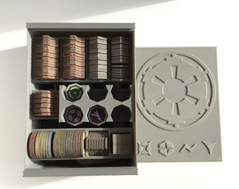Star Wars Imperial Assault Token Box Organizer