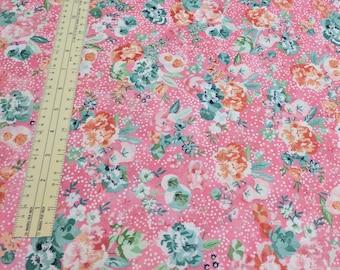Fresh Cut Basic Grey-Large Flower-Candy-Cotton Fabric from Moda Fabrics