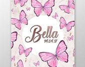 Butterfly Personalised Pr...