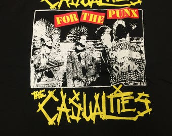 The Casualties For The Punx Logo Shirt