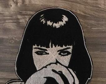 Mia Wallace/Uma Thurman - Pulp Fiction Iron Patch