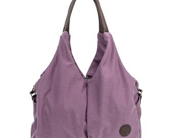 Cashay Jesse Fashion Diaper Bag (Purple) | Best Fashion Diaper Bag for Moms, Prefect Baby Shower Gift.