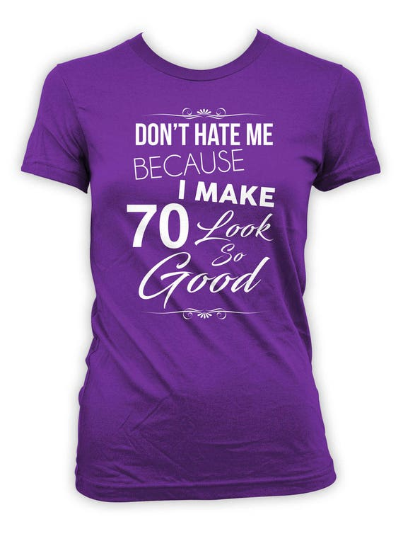 70th Birthday Present Ideas >> 70th Birthday Gift Ideas Bday T Shirt Personalized TShirt