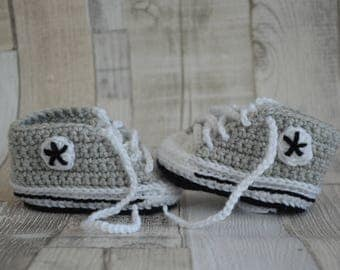 Baby Shoes Sneakers - grey