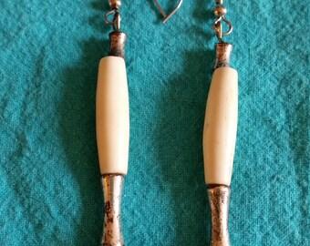 Bone Dangle Earrings