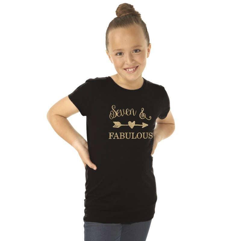 Seventh Birthday T Shirt