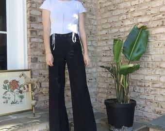 Vintage Navy Sailor Trousers