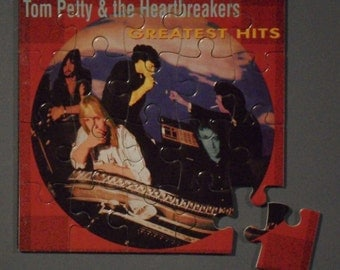 Tom Petty CD Cover Magnetic Puzzle