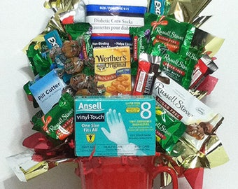Diabetic Sugar Free Candy & Gift Bouquet