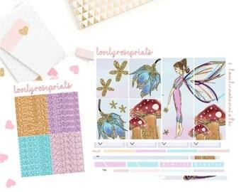 Glitter Fairy EC Vertical Weekly Kit