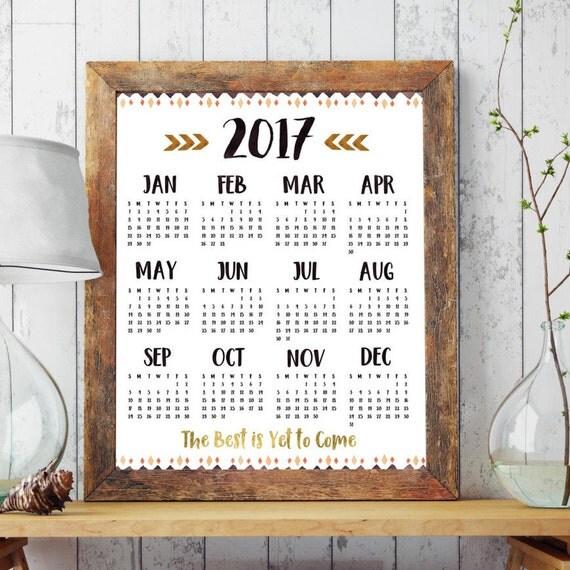 printable calendar 2017 large calendar 2017 wall calendar