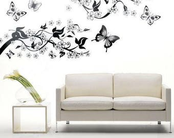 Butterfly Wall Decal, Wall Decals Butterfly, Wall Decals Living Room, Wall Decal for Girls, Wall Decals for Bedroom, Wall Decals Nursery
