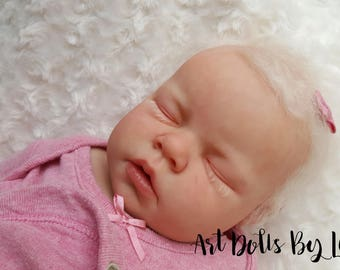 CUSTOM REBORN BABY ~ Noah Asleep By Reva Schick ~ 6 month layaway