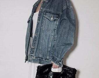 Overfit denim jacket