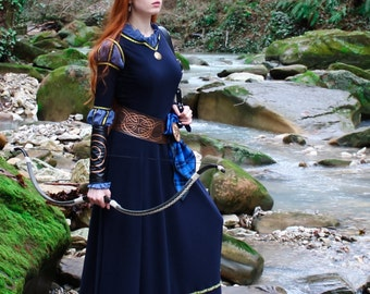 Merida cosplay dress; Scottish Princess Costume; Merida Dress; Brave; Cosplay Costume; Brave Inspired; Celtic dress