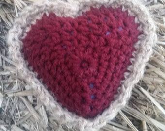 Bindertwine sweetheart pillow