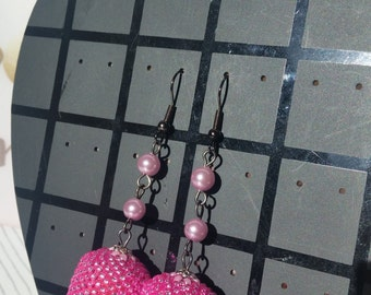 Earrings cherry tomato