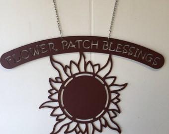 Primitive Sunflower Garden Blessings