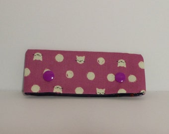 "4"" DPN Needle holder/ Needle holder; Cat print"