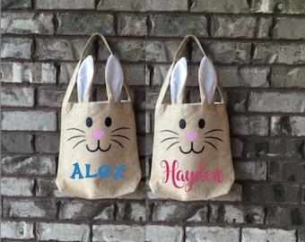 PERSONALIZED Bunny Bag - Easter Basket