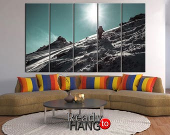 Alpinism canvas, Alpinism wall art, Climber canvas, Climber wall art, Climber print, Climber poster, Alpinism art, Climber canvas wall art