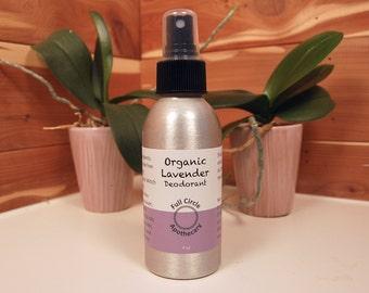 Organic Lavender Deodorant with Magnesium