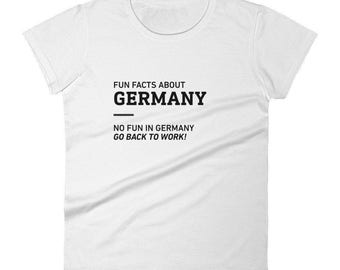 Fun Facts About Germany - Women's T-Shirt
