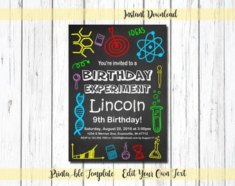 Science party Etsy