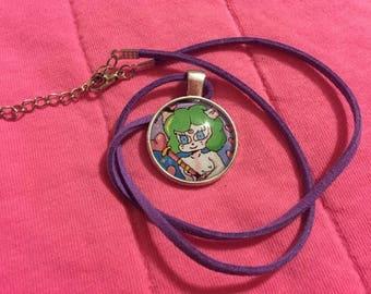 Handmade Pixel Necklaces