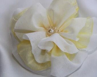 Bridal Hairaccessories/ Wedding Hair Flower/ Bridal Headpiece/ Wedding Flower Hairpiece/ Flower Headpiece/Wedding Hair Piece/Boho Hairflower