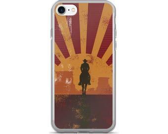 Cowboy iPhone Case, Phone Case Cowboy, Cowboy Phone Case, Protective iPhone Case, iPhone 7 Case, iPhone 6 Case, iPhone 5, Cowboy Gifts
