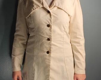 Vintage ILGWU Woman's Small Linen Blazer Jacket RN#368073