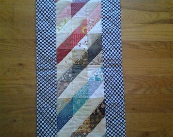 Rainbow Stripped Table Runner